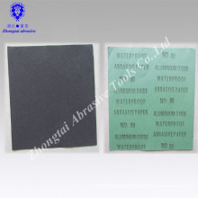 Promotion 230*280mm black abrasive Aluminum Oxide Waterproof Sand Paper