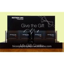 Erhöhen Sie Ihre Verkäufe und schaffen Sie einen dauerhaften Eindruck Kundenspezifischen Einzelhandelsspeicher Schwarzer Acryl-Geschenk-Karten-Anzeigen-Halter