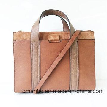 Marca Design Lady PU Handbags Malote de couro feminino (NMDK-041103)