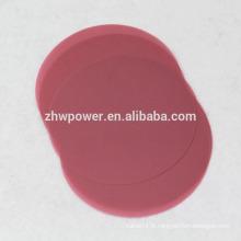 Vente en usine de film de vernis fibre optique 9um, 3um, 1um, film de polissage à fibre optique, film de polissage optique avec différentes couleurs