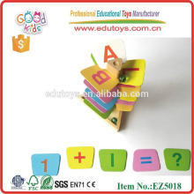 Wooden educational Ball Bearing Tower funny Toy