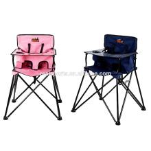 Silla de bebé de encargo de Niceway Safety que cena la alimentación plegable colorida de la silla de bebé dinning para el niño