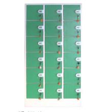 Durable 18 Doors Coin Locker for Storage