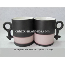 45 degrees thermochromic pigment for ceramic mugs