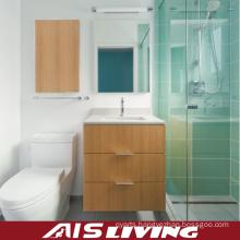 Veneer Bathroom Cabinets Small Vanity (AIS-B019)