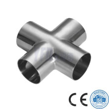 Lowest Price of Sanitary Stainless Steel Welded Crosses Pipe Fittings