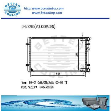 Радиатор, используемый для VW