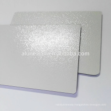 2mm-6mm PVDF coated embossed aluminum composite panel from China manufacturer