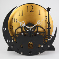 Die Moon Tower Gear Desk Clock