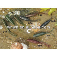 equipment for the production of fishing soft fishing lure