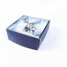 Caixa pequena de embalagem de papel revestido