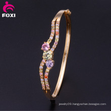Latest Design Vogue Jewellery Bangle Sexy Jewelry CZ Crystal Bangle