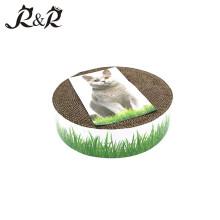 Pet products Private label pet products cat toys cardboard /box Cat scratcher cat scrating post RCS-8004