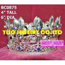 Reyes del rey de metal coronas y tiaras completas