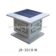 Lampe style asiatique style Oriental solaire jardin, LED pilier jardin clôture légère, solaire post lumineux, solaire lumière (JR-3018)