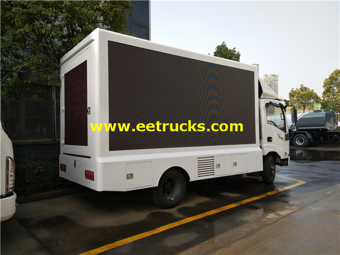 P6 outdoor LED Display Advertising Trucks