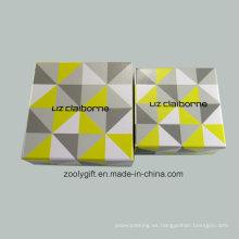 Caja de regalo de encargo del papel de la impresión de la impresión del logotipo