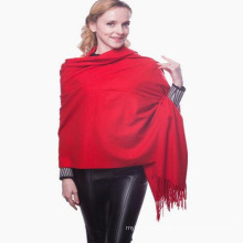 business accessory Beautiful quality reasonable price solid color best quality lady pashmina shawl women scarf pashmina