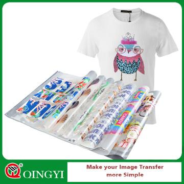 Qingyi Siebdruck zeigen benutzerdefinierte Plastisol Wärmeübertragung Aufkleber