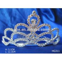 Große tiaras rosa Fee Tiara Perle Krone Kronen billig