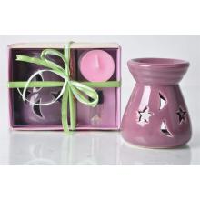Scented Candle with Holder Essential Oil