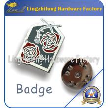 Cadeaux promotionnels faits sur commande d'insigne en métal