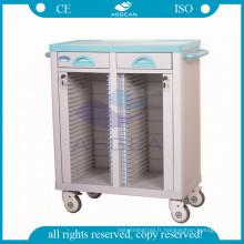 AG-CHT003 ABS porte-dossiers matériel Patient Record trolley