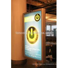 Caixa de luz de exibição publicitária