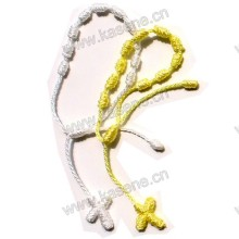 Pulseira de mão bonita, jóia handmade do bracelete do cabo