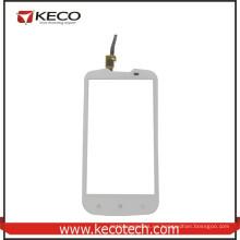 """5.0 """"pulgadas de teléfono móvil de panel táctil Digitzer reemplazo de pantalla de cristal para Lenovo A770E blanco"""