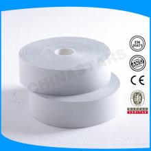 100 lavagem de alta qualidade de prata TC fita reflexiva para a camisa de trabalho de segurança