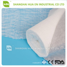 Hergestellt in China Heißer Verkauf 100% Baumwollmedizinische Gazerolle