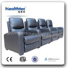 Cadeira sem fio do orador do cinema em casa preto moderno (B039)