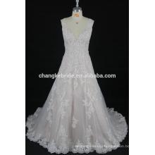A-line Sleeveless Sheer Straps Traditional Spanish Party Designer Wedding Dresses