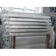 Andamio de acero galvanizado de seguridad Placas de estilo fuerte