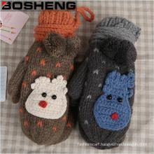 Wholesale Fashion Women Warm Winter Knit Glove Mittens