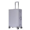 Wholesale aluminum luggage suitcase with 360 degree spinner wheels