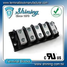 TGP-050-05BSS 600V 50A 5-fach Power Splicer Schraubklemmenstecker
