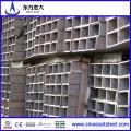 Hot Galvanized Rectangular Steel Pipe