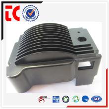 China OEM por encargo de aluminio caja de conexiones negro de fundición
