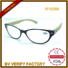 PC-Rahmen mit Bambus Arme Reading Glass (R15088)
