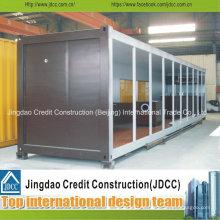 Fertigcontainerhaus für Ausstellungsraum