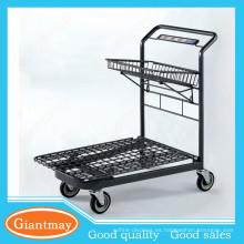 tienda universal venta al por menor cromado supermercado almacén carretilla de mano