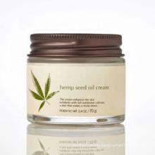 2020 Best Selling Product  Facial Brightening Moisturizer Hemp Seed Oil CBD Hemp Extract  Skin Whitening Face Cream