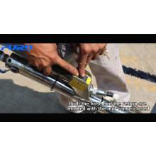 Machine de remplissage de poussée de main Type de main Machine de remplissage de scellage de fissure de béton d'asphalte de réparation de route FGF-100