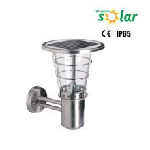 IP65 Lámpara de pared protección DC tipo de luz Solar y nivel energía suministro