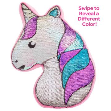 UNICORN FLIP SEQUIN PILLOW-0