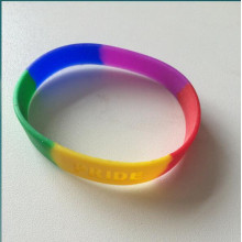 2016 Hottest Silicone Debossed Fashion Bracelet From Supplier