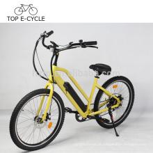 48 volts bateria Li-ion bicicleta cruiser da praia elétrica com Kenda 26inch pneu bicicleta elétrica china