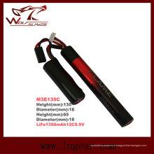 Vie 1350mAh12c 9.9V M3e135c de batterie LiFePO4 LFP Airsoft Cqb/R